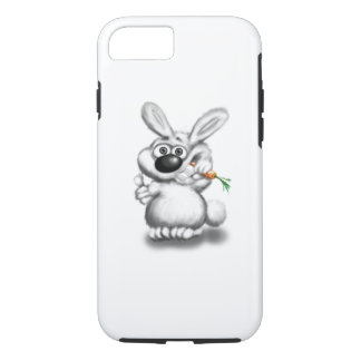 Funny Curious Bunny iPhone 7 Case