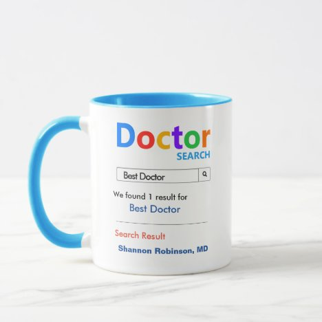 Funny Custom Best Doctor Gift Mug