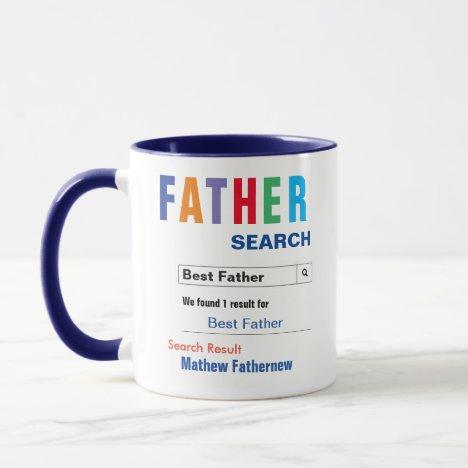 Funny Custom Best Father Gift Mug