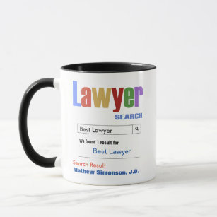 Lawyers do it legally attorney at law gift for men and women Details about  /Funny Lawyer mug