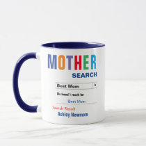 Funny Custom Best Mom Gift Mug