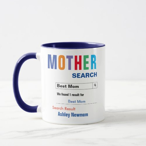 Funny Custom Best Mom Gift Mug