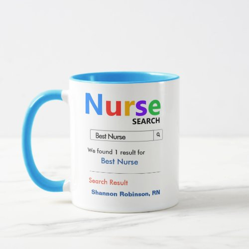Funny Custom Best Nurse Gift Mug