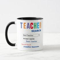 Funny Custom Best Teacher Gift Mug