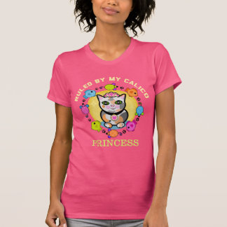 Funny Custom Calico Cat Lover T-Shirt