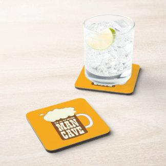 Funny Custom Man Cave Drink Coaster