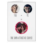 Funny Custom Modern Valentines Day Card