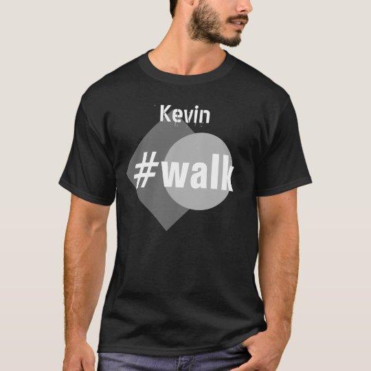 Funny Custom Name WALK V32 T-Shirt