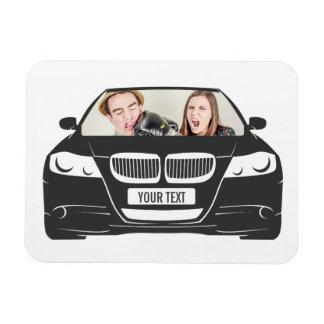 Funny Custom Photo Car Frame Magnet