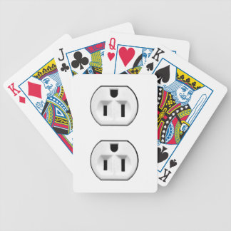 Funny Custom Playing Cards Electrical Outlet