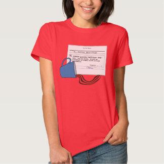 Funny Custom Prescription Coffee T-Shirt