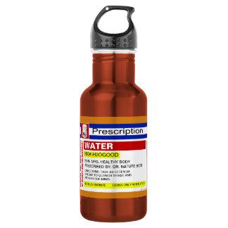 Funny Custom Prescription Water Drinking Beverage 18oz Water Bottle
