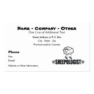 Funny Custom Sheep Business Card