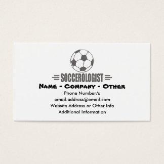 Funny Custom Soccer Business Card