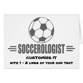 Funny Custom Soccer Card