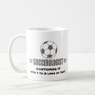Funny Custom Soccer Coffee Mug