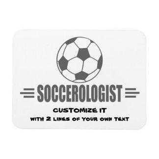Funny Custom Soccer Magnet