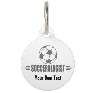 Funny Custom Soccer Pet Tag