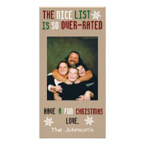 Funny Customizable Christmas Card
