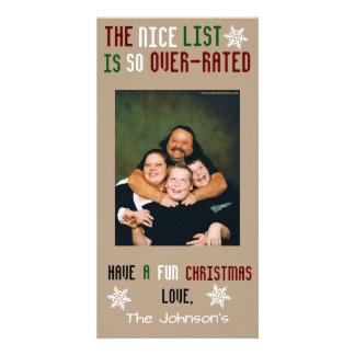 Funny Customizable Christmas Card