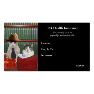 Funny Customizable Pet Business Double-Sided Standard Business Cards (Pack Of 100)