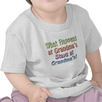 Funny Cute Baby T-Shirt, Grandma's House