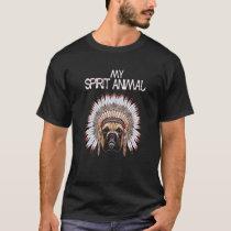 Funny Cute Boxer Dog My Spirit Animal T Shirt