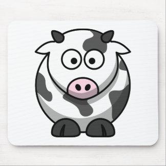 Funny Cute Cartoon Cow Animal Mouse Pad