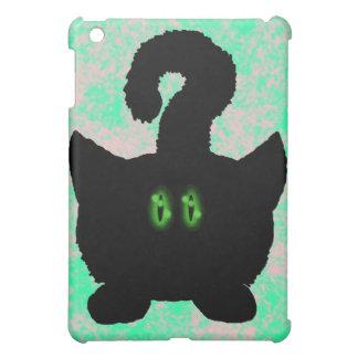 Funny cute cat cartoon art ipad case design