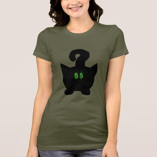 Funny cute cat cartoon art t-shirt design