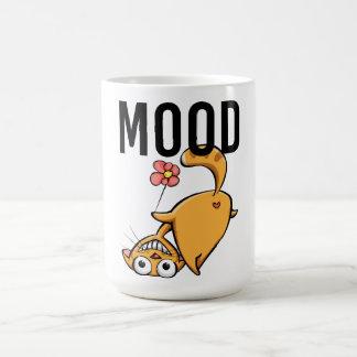 Funny Cute Cat Silly Mood Mug