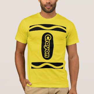 Funny Cute Crayon Halloween Costume Choose a Color T-Shirt