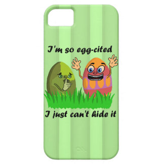 Funny Cute Easter Eggs Cartoon iPhone 5 Cover