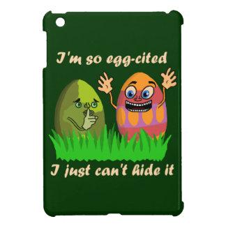 Funny Cute Easter Eggs Cartoon iPad Mini Cases