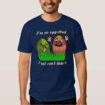 Funny Cute Easter Eggs Cartoon T-shirts