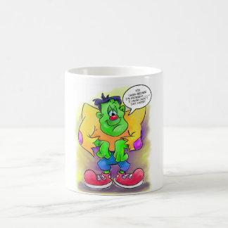 Funny cute frankie mug cartoon