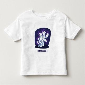 Funny cute ghosts halloween cartoon toddler shirt