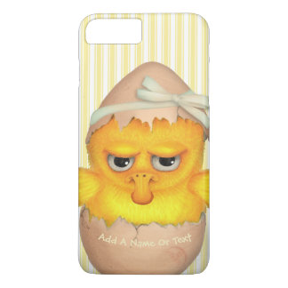 Funny Cute Grumpy Chick iPhone 7 Plus Case