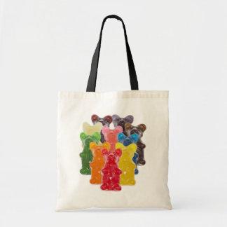 Funny Cute Gummy bear Herds Budget Tote Bag