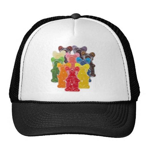Funny Cute Gummy bear Herds Trucker Hat