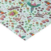 Funny Cute Koala Pattern   Tissue Paper