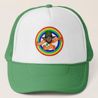 Funny cute  leprechaun  St Patrick's day Trucker Hat