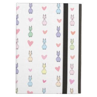 Funny Cute Llama Pattern Case For iPad Air