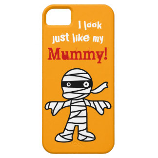 Funny Cute Mummy - Happy Halloween iPhone 5 Covers