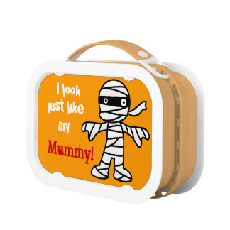 Funny Cute Mummy - Happy Halloween Lunch Boxes