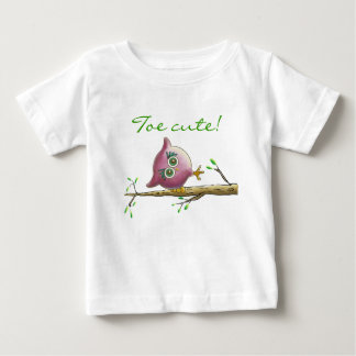 Funny & Cute Owl on a Branch Shirt
