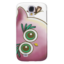 Funny Cute Owl Picture Samsung S4 Case