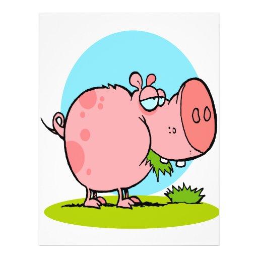 Cute piggy eating - photo#17