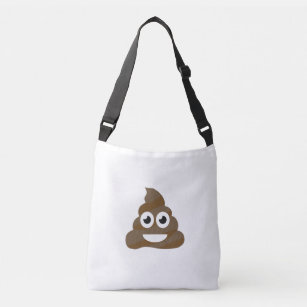 d1440861b0 Funny Cute Poop Emoji Crossbody Bag