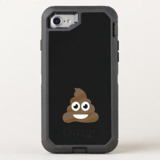 Funny Cute Poop Emoji OtterBox Defender iPhone 8/7 Case